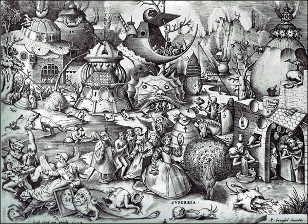 Pieter Bruegel (The Elder) - The Seven Deadly Sins