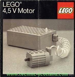 Retro Lego Motor